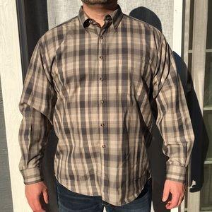 Pendleton Tops - Sir Pendleton plaid wool dress shirt.